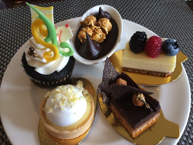 Dessert plate #3 - Seasons