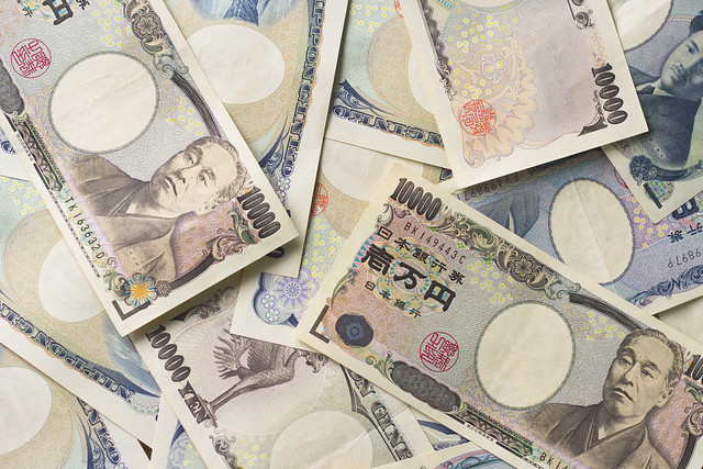 Photo:Japanese Yen bills By:Japanexperterna.se