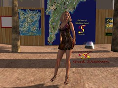 LG Boutique - Africa Cry worn for the winter sims on Designing Worlds: Podcar Tours
