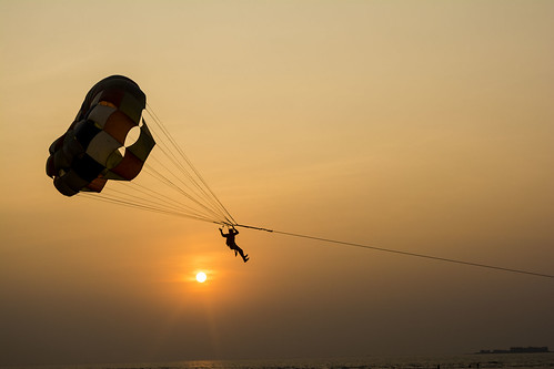 travel sunset beach nature silhouette nikon adventure maharashtra 1855mm murud janjira paraglyding sunsetride beachrides