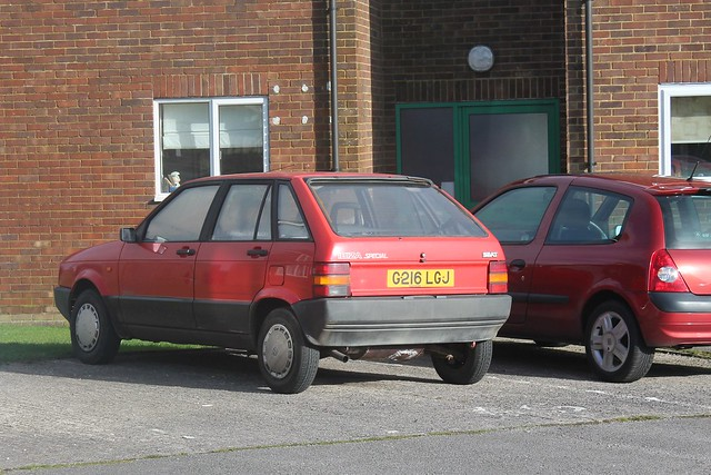 (Scrapped!) 1989 SEAT Ibiza 900cc Special