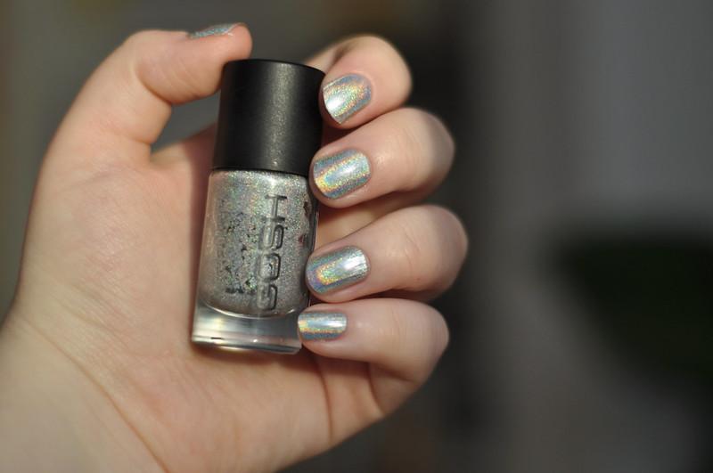 notd gosh holographic nail polish rottenotter rotten otter blog 2