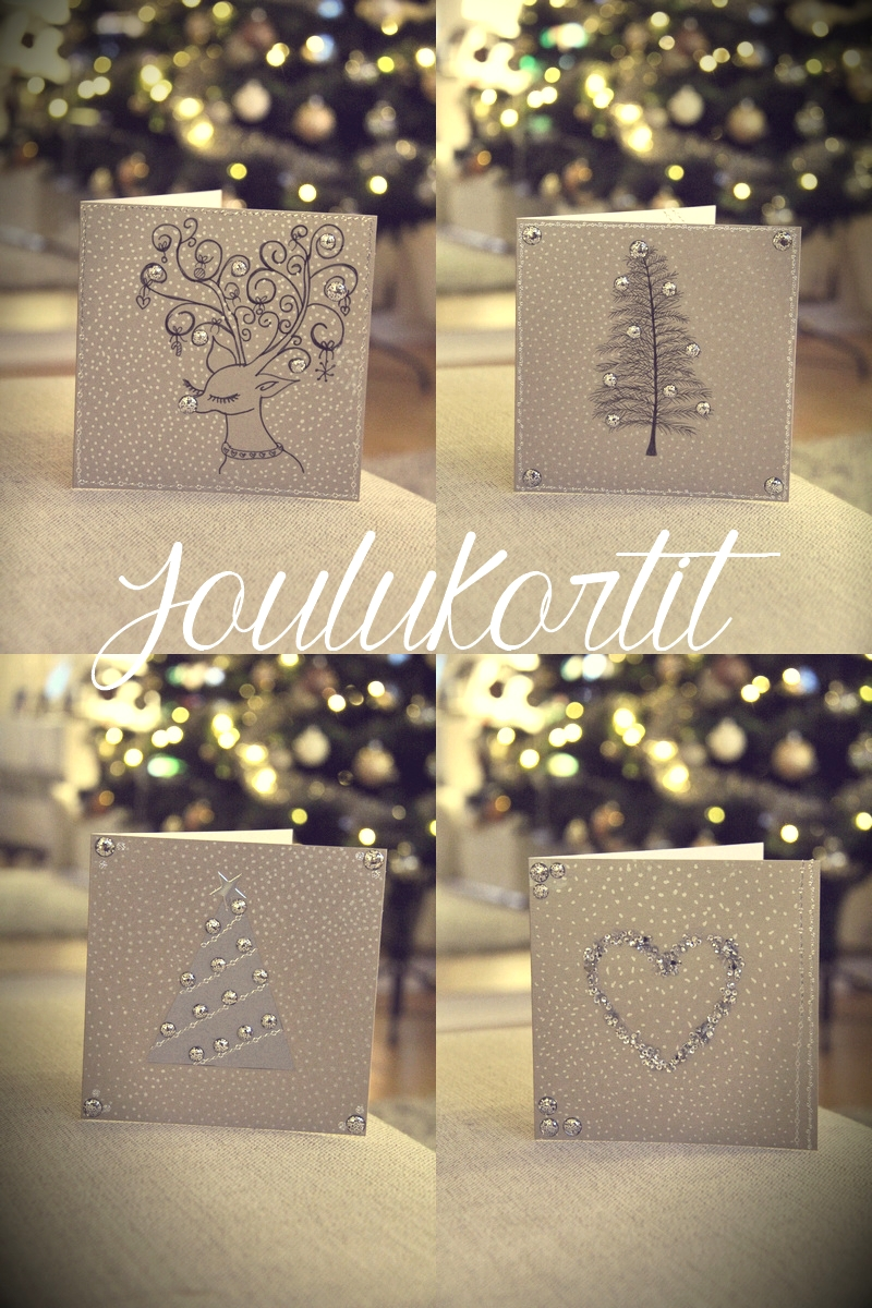 joulukortitesittelyssä