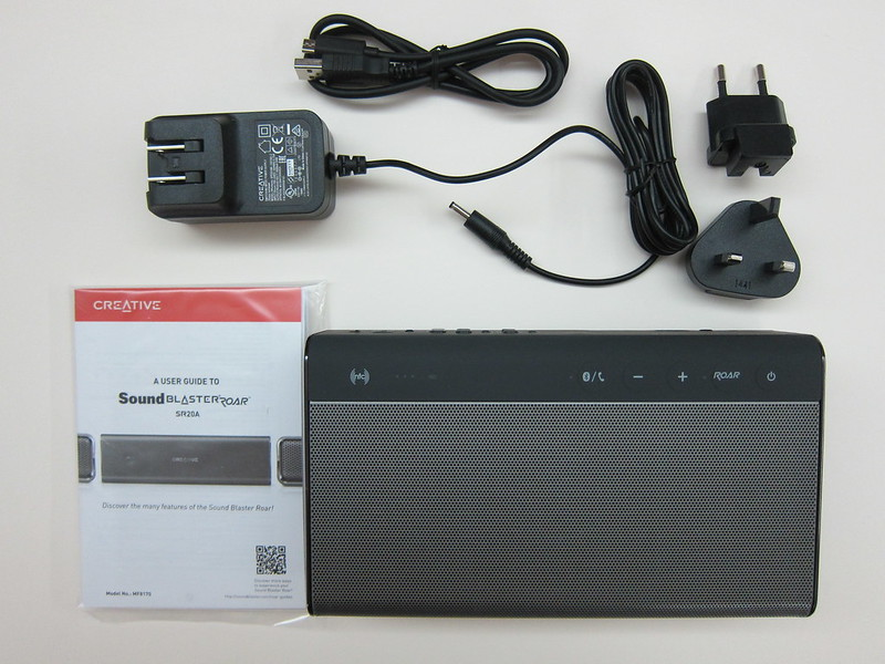 Creative Sound Blaster Roar - Box Contents