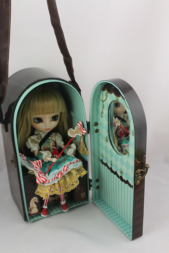 Angelic Pretty Chess Chocolate Mint Doll Case