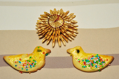 Backblog Weihnachten Tiere backen Rezept Buttergebäck Knetteig Ausstechteig Ente Enten Foto Brigitte Stolle