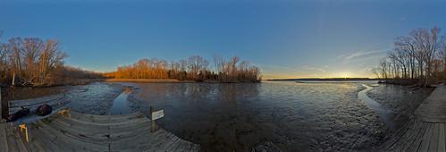 sunset fall jugbay hdrpano canoneos60d sigma816mm