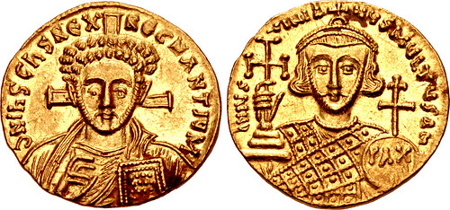 Justinian II Gold Solidus