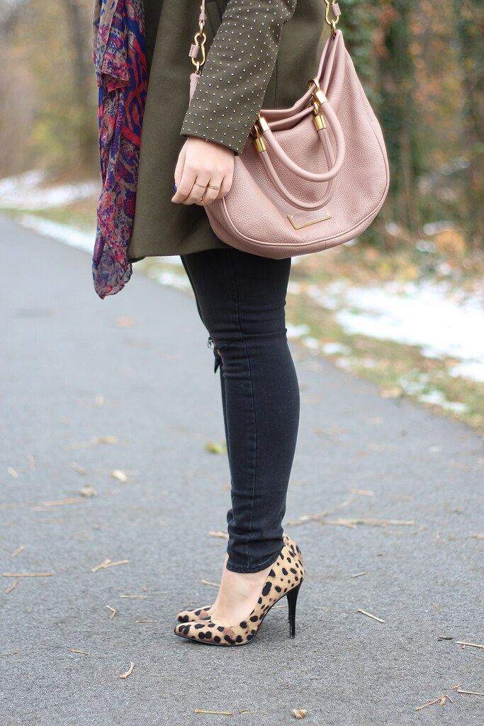 Muted Colors | Winter Outfit | #LivingAfterMidnite