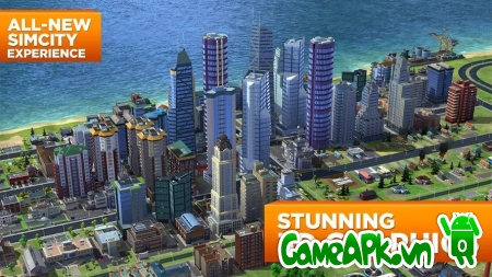SimCity BuildIt v1.10.8.39185 hack full tiền cho Android