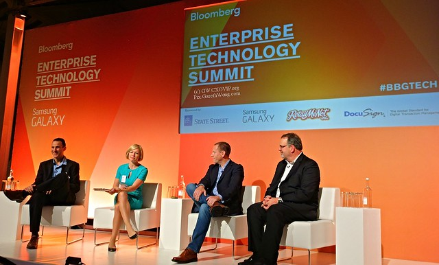 @BarakRegev Head EMEA Cloud Platform Google Taylor Rhodes CEO @Rackspace Tony Scott SVP and CIO VMware Int. by @CarolineHydeTV from RAW _DSC2152