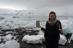 Chimarrão na Antartica