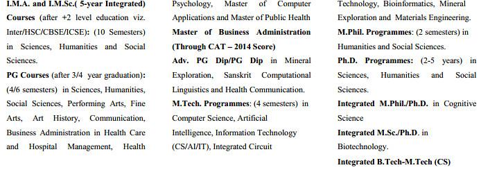 University of Hyderabad Admission 2015   university of hyderabad  Image