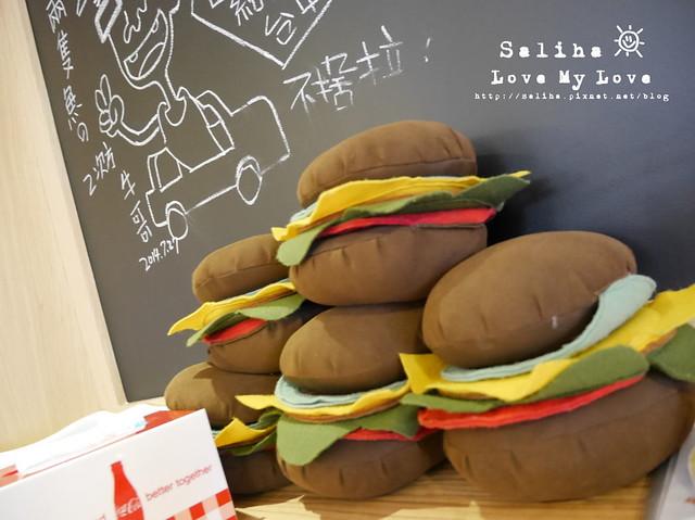 台中餐廳美式漢堡雙魚2次方 (2)