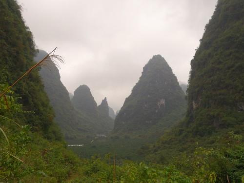 La campagne de Yangshuo