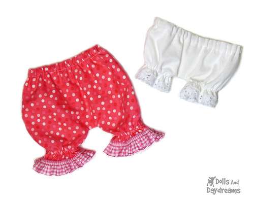 Doll Underwear sewing pattern