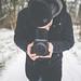 Snowy Day in Mannheim. by Felix Hohagen