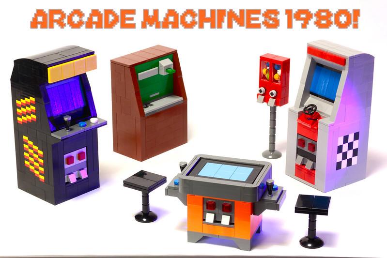 LEGO Arcade Machines