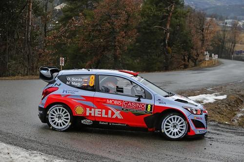Dani Sordo Rally Monte Carlo 2015