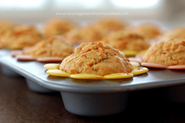 Gluten Free Morning Glory Muffins