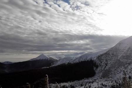 Aktuální lavinová situace v ukrajinských Karpatech
