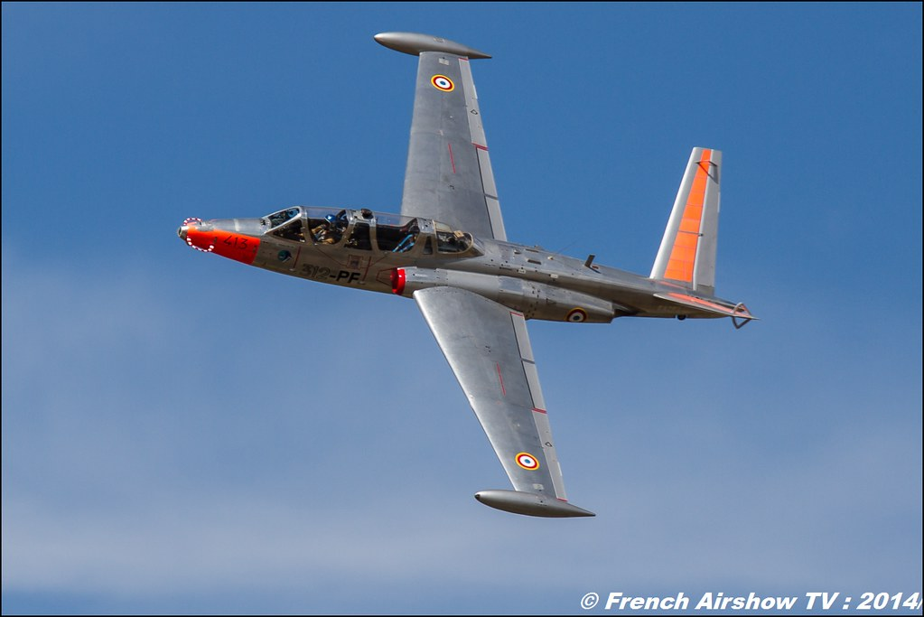 Fouga Magister, F-AZPZ , Meeting des 60 ans de l'ALAT,Aviation légère de l'armée de Terre (ALAT), Cannet des Maures