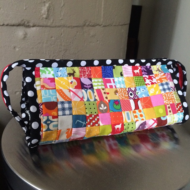 My #sewtogetherbag is complete!!! I can join the cool kids club now!! #mplsmqg