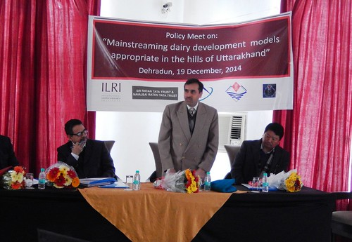 Mainstreaming dairy based livelihood models in Uttrakhand