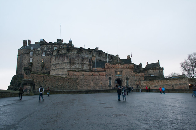 Edinburgh Castle in the day