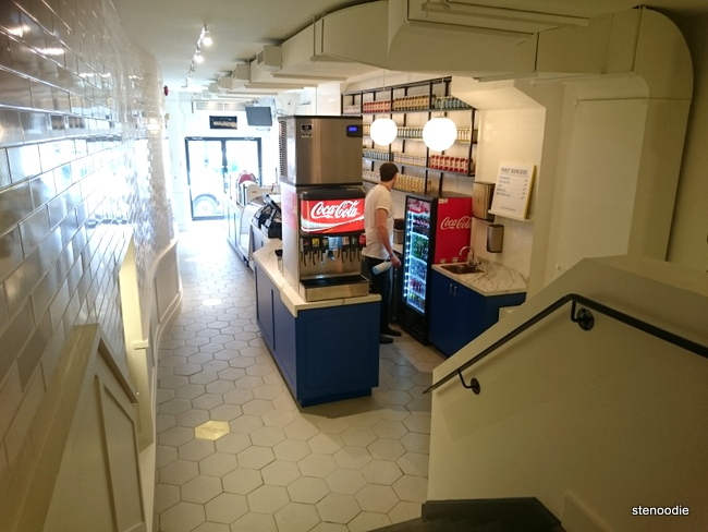 The inside of Caplansky's Deli in Yorkville