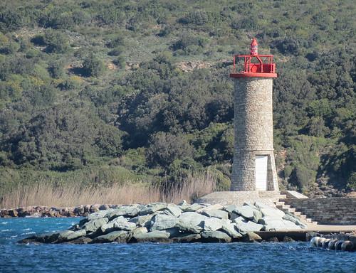 Macinaggio Lighthouse, Corsica, France