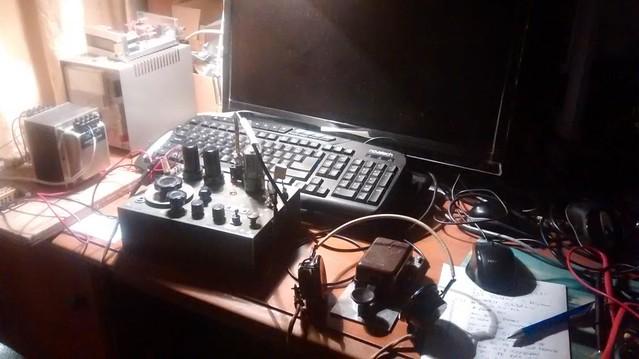 G0PEB Whaddon MkVII Spy Transceiver
