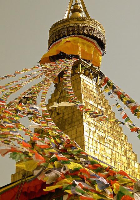 Boudhanath Stupa - Kathmandu, Nikon COOLPIX L100