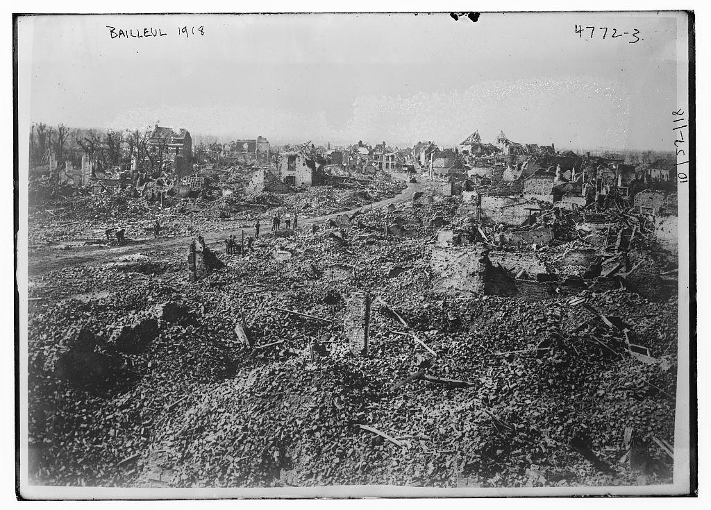 Bailleul, 1918 (LOC)