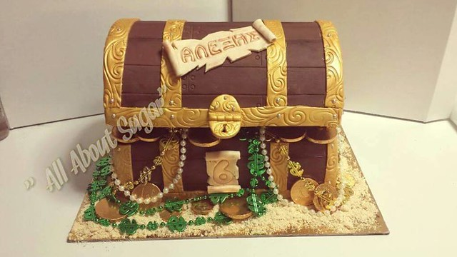 Cake by Maria Alioti of All About Sugar