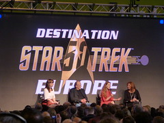 Sci-fi actors at The NEC