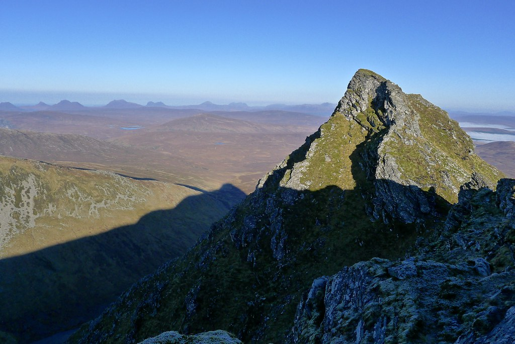 An Sgurr and the hills of Assynt