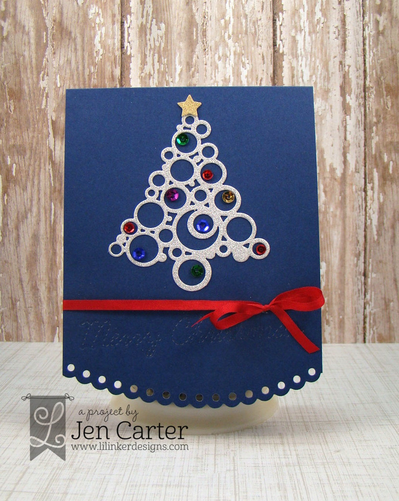 Christmas Tree Bauble Blue