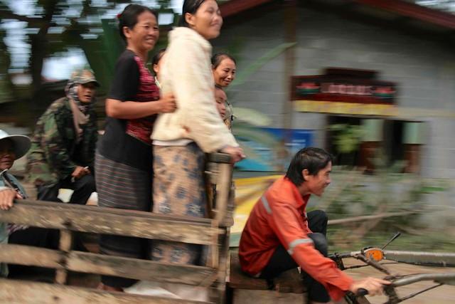 Campesinos laosianos, Laos, ©evaespinet