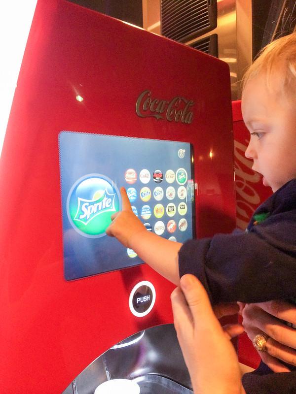 Coca-Cola Freestyle at AMC Theatres