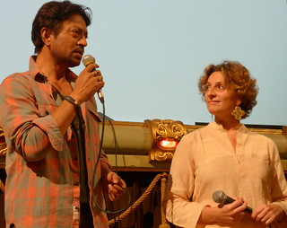 Irrfan Khan & Selvaggia Velo @River to River. Florence Indian Filmfestival