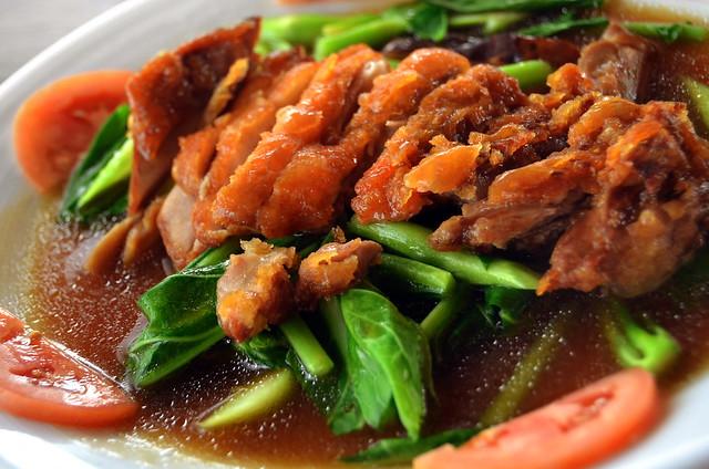 Pato guisado estilo tailandés