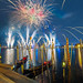 Fireworks over Italy