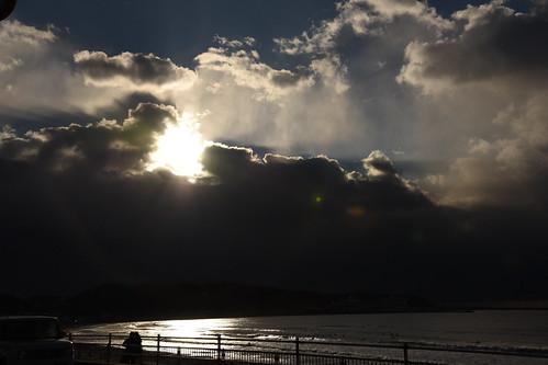 ocean sunrise 初日の出