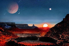 Sunrise on a Distant Planet