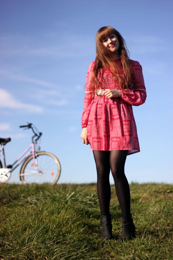 Vintage outfit blogger - vintage kleid 60er - vintage blogspot