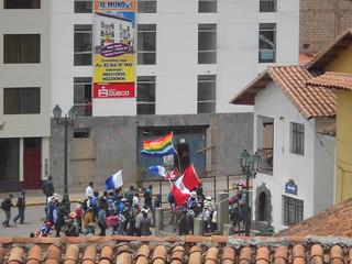 Peruvian Petrol Protest