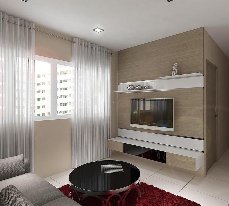 HDB 4-Room @ Punggol Emerald