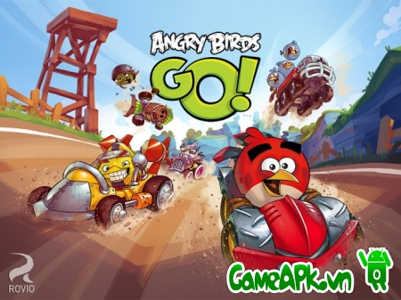 Angry Birds Go! v1.11.1 hack full tiền cho Android