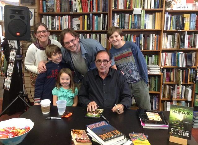 R.L. Stine at Oblong Books